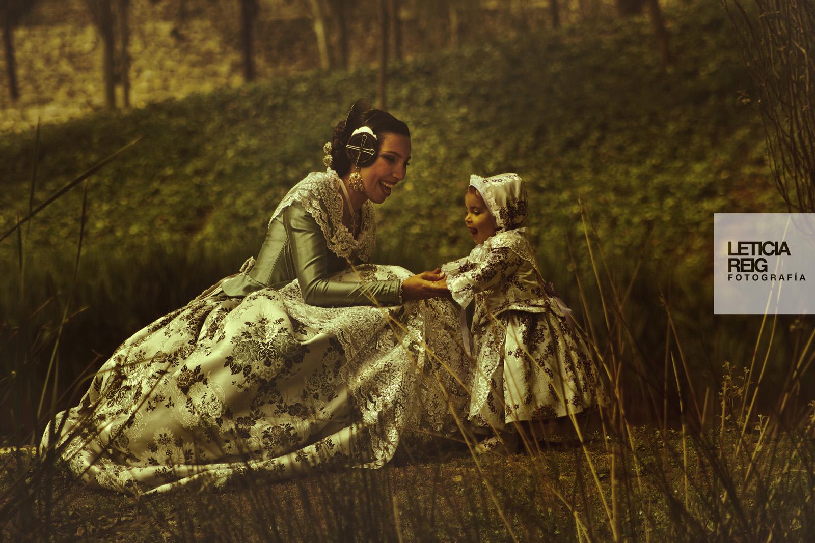 Fotografías artísticas a familia valenciana